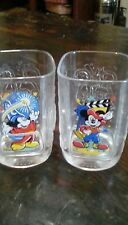 Disney Mcdonalds 2000 collectable glasses