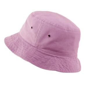 Bucket Hat Cap Cotton Fishing Boonie Brim visor Sun Safari Summer Camping Caps