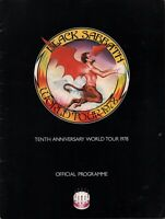 BLACK SABBATH 1978 NEVER SAY DIE TOUR CONCERT PROGRAM BOOK / VAN HALEN / VG 2 NM