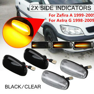 LED Side Indicators Side Markers for Holden Commodore VY 1 & 2 VZ Astra TS 1 & 2