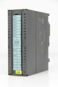 SIEMENS S7 Digital Input Sm 321 6ES7 321-1BL00-0AA0 E-Stand 5 Defective