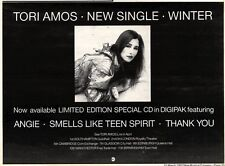 21/3/92 Pgn33 TORI AMOS : WINTER ADVERT 7X11""