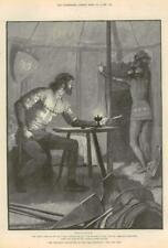 1890-FINE ART PRINT merveilleuses aventures Phra phénicien Paget (099)