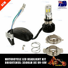 9-18V 35W Motorcycle Headlamp 6-Chip LED Light 3500LM Scooter Headlight LED Kit