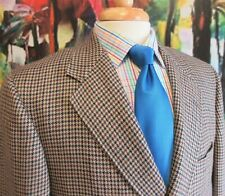 44 R- H.FREEMAN & SON WOVEN WOOL SPORT COAT HOUNDSTOOTH