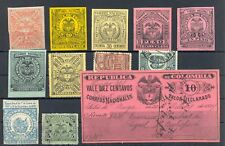 COLOMBIA 12 ST. REVENUE / BACK OF BOOK --F/VF
