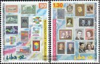 Liechtenstein 1297-1298 (kompl.Ausg.) postfrisch 2002 LIBA