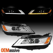 [LED DRL SWITCHBACK Signal] For 2014-2020 Chevy Impala Projector Headlight Lamp