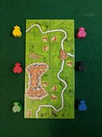 The robbers bandits Carcassonne mini expansion second edition