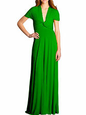 VON VONNI Women's Emerald Green Transformer Dress Long One Size VVL101 $120