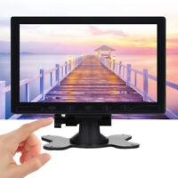 "10"" LCD CCTV Monitor Bildschirm HDMI Display for PC Raspberry PI Touch Tasten"