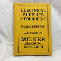 Vintage Milner Electric Co. Catalogue Hard Cover