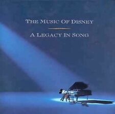 The Music of Disney A Legacy in Song Box by Disney CD Sep-1992 3 Discs Book NIB