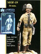 qq LA FORTEZZA 54mm - Caporale dei Bersaglieri (Africa Orientale Italiana, 1936)