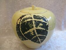 Vintage Hull Pottery Yellow Apple Cookie Jar