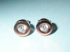 TOM TAILOR Damen-Ohrstecker Vergoldetes Metall Swarovski-Kristall TT31041SPZ