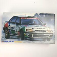 Hasegawa Subaru Legacy 1/24 1992 Swedish Rally Complete Kit Opened