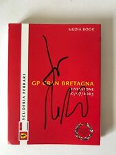 Jean Todt and Ross Brawn Hand Signed Ferrari Press Pass 2005 Media Book.