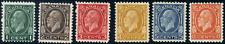 Canada #195-200 mint F OG H/HR/DG 1932 King George V Medallion Part Set CV$82.90