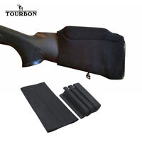 TOURBON Rifle Buttstock Holder Neoprene Comb Raiser Adjustable Cheek Rest 3 EVA