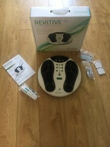 Revitive CX circulation Booster RRP £289. Opened, Never Used. All Perfect.