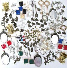 Lot 100 CHARMS Mixed Themes Sizes Key Nautical DIY Craft Bracelet Jewelry Making