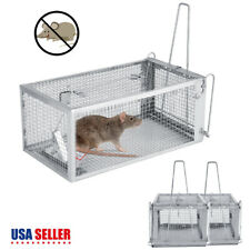 1/2Pcs Live Humane Cage Trap for rats mice chipmunks rodents animal Pest Control