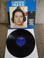 """Conchita Piquer Die Voz Unforgotten, de Vol 2 LP vinyl 12 """" Spanisch Ed G + 1967"""
