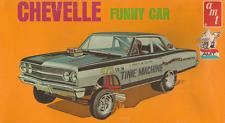 1970s AMT Chevelle Funny Car model box replica magnet - new!