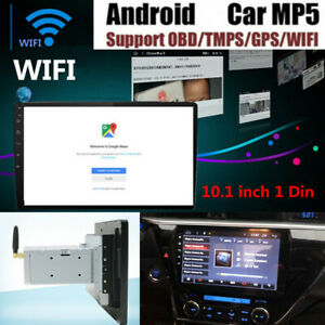"10.1"" 1 DIN Android 7.1 System Car Stereo Radio Player 3G/4G WIFI GPS Bluetooth"