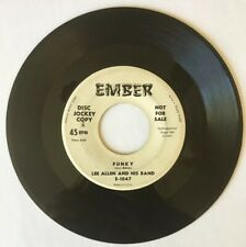Lee Allen and His Band: 1958 Jim Jam/ Funky EMBER 45Rpm