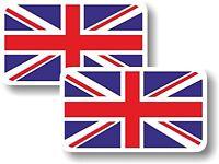 Vinyl sticker/decal Small 70mm Union Jack flag - pair