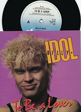 Billy Idol ORIG OZ PS 45 To be a lover NM '86 New Wave Hard Rock Generation X