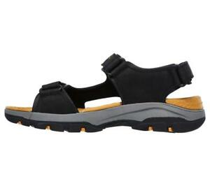 SKECHERS Men's Relaxed Fit : Tresmen - Hirano sandal in Black