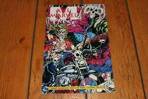 Kill Marvel #1 Sign Sketch Hart Fisher American Horrors True Crimes Dahmer Comic