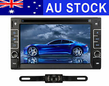 Camera + 6.2'' Car Stereo DVD Player HeadUnit GPS Bluetooth Navigation Universal