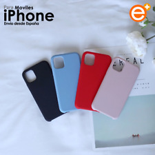 Funda de Silicona Original Para iPhone 11 Pro Max XR XS X 8 7 6s Plus Suave