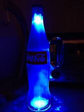 Coca Cola Led Bottle Light Blue Pub Bar Man Cave Neon Sign Red Purple Green