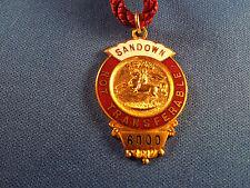 Sandown Park Horse Racing Members Badge - 1933