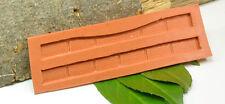 (K001) Moule en silicone pour gemauerte Bordures de quai, Piste N