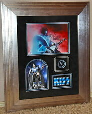 KISS ACE FREHLEY signed autographed photo FRAMED McFarlane DYNASTY PSA DNA COA