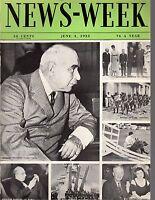 1933 Newsweek June 3-J P Morgan testifies; Japan patrols Peiping Streets; Gandhi