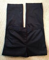 Women's Ann Taylor Black Cropped Pant-Size 4