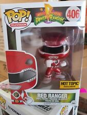 FUNKO Pop TV: Power Rangers - Red Ranger Action Figure Mint