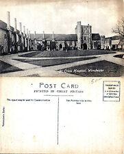 1920's St CROSS HOSPITAL WINCHESTER HAMPSHIRE UNUSED POSTCARD