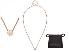 Mimco Necklace Rose Gold Big Bang Short Neck Necklace