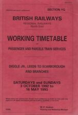 British Rail (1948-1997) Company/Era/Region Collectable Railway Employee Timetables