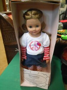 "NIB- MADAME ALEXANDER Doll......SARAH  18"" with COA"
