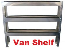 Carpet Cleaning  S/S  Adjustable 3-Tier Chemical Van Shelf  Storage Truckmount