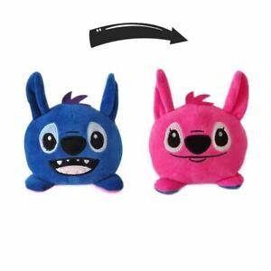 Lilo & Stitch Reversible Plush Doll Double Sided Flip Stuffed Toys Kids Gifts